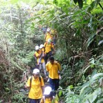 Dunia Outbound Hiking