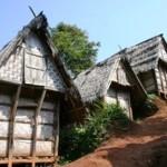 tempat penyimpanan beras suku baduy