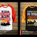 t shirt dunia outbound