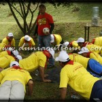 punishment, outbound, ykk zipco, team building, outbound motivasi, dunia outbound