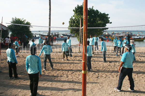 capacity building, dpkad cianjur, pulau tidung, outing, outbound, kerja sama tim, team building, dunia outbound, citra jet
