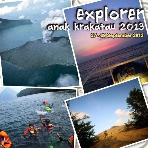 explore anak krakatau, trip jalan - jalan, dunia outbound