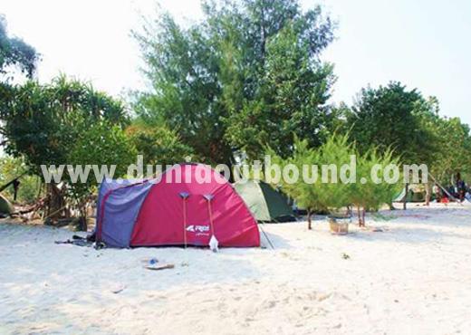 camping di pulau pari, dunia outbound