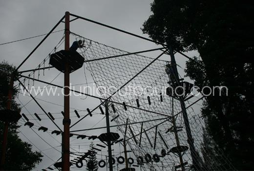 jubilee puncak camp high rope