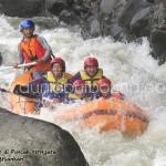 jubilee camp, arung jeram, rafting puncak