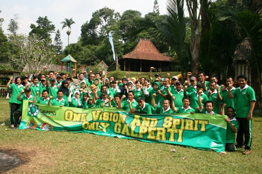 outbound training pt. mitra galperti, spanduk outbound