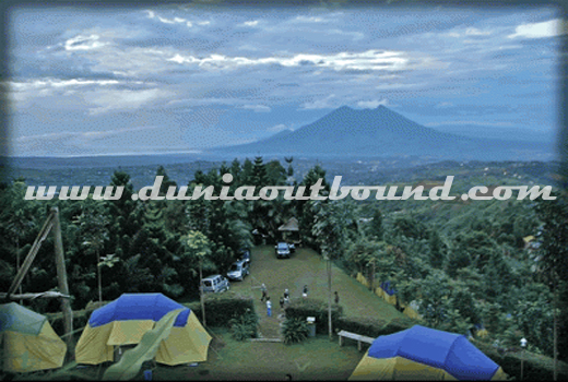kampung awan, lokasi outbound, mega mendung, puncak, outbound