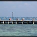 Dermaga Pulau Putri, lokasi outbound di pulau seribu