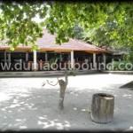 restaurant di lokasi outbound pulau putri