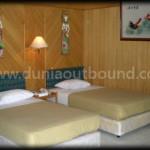 kamar di pulau putri, lokasi outbound pulau seribu