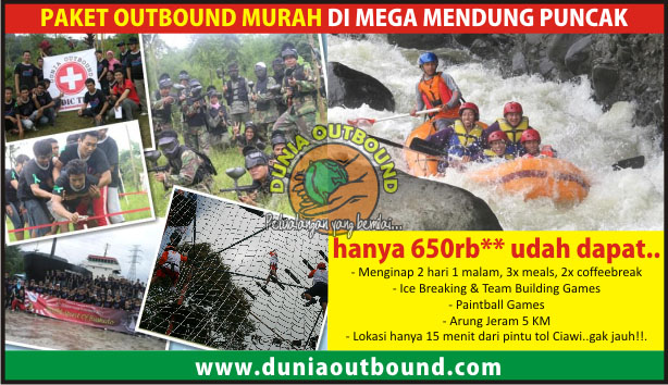 paket outbound murah di puncak