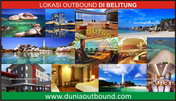 lokasi utbound di belitung, belitung outbound, lokasi outbound belitung