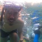 outbound di lombok, snorkeling di gili trawangan, gili trawangan