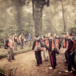 jungle survival training, outbound training, verena multi finance, gunung salak, dunia outbound