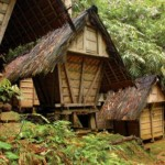 rumah adat baduy, dunia outbound, baduy