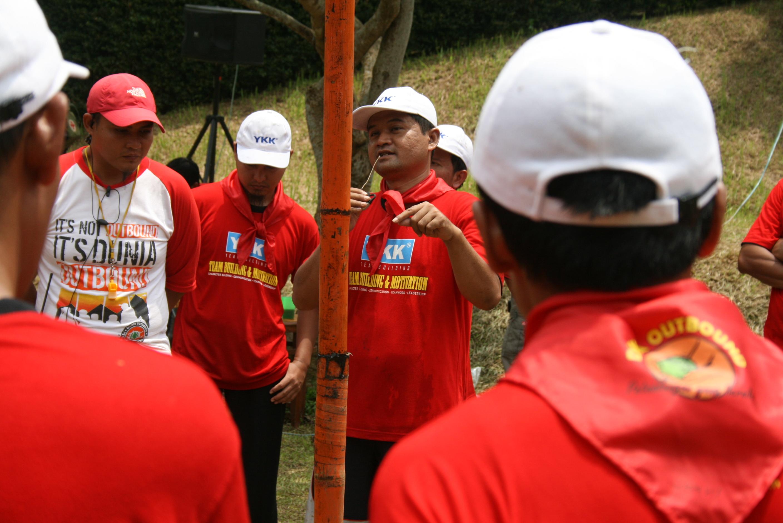 Team Building And Motivation Training YKK Zipco Indonesia
