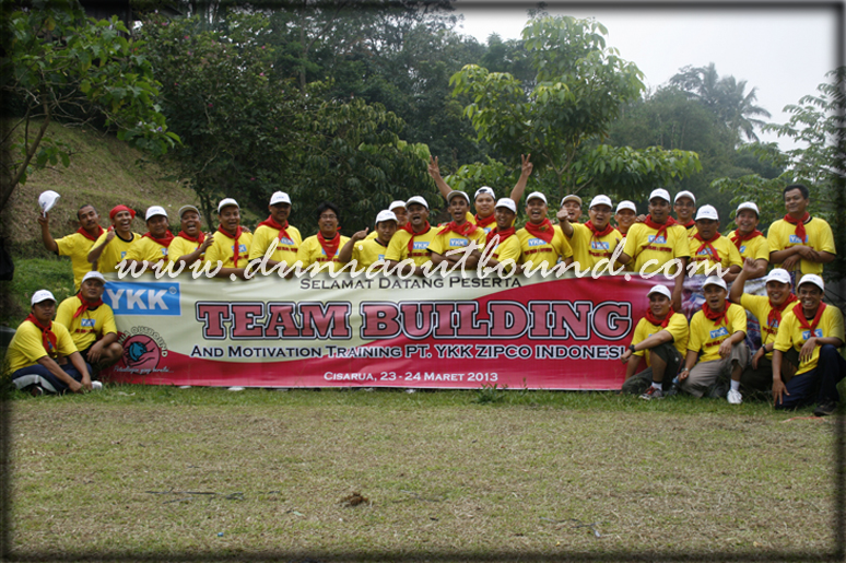 ykk klien dunia outbound, outing, team building, outbond murah, pt. ykk, dunia outbond
