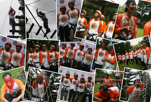 jubilee camp, puncak outbond, dunia outbound