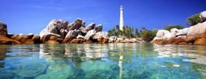 pulau lengkuas belitung, lokasi outbound di belitung, lokasi outbound belitung