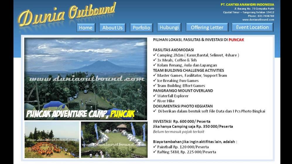 lokasi outbound, outbound bogor, outbond bogor, lokasi outbond, kampung awan