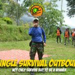 jungle survival outbound, outbound jungle survival, verena multi finance, outbound training