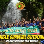jungle survival outbound, outbound training,outbound bogor,