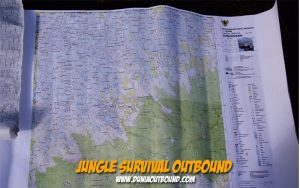 jungle survival, peta topografi