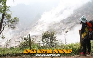 jungle survival training, dunia outbound, puninar