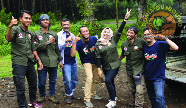 Team Dunia Outbound Offroad Lembang