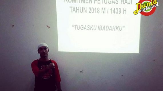 Team Building Petugas Haji Tahun 2018