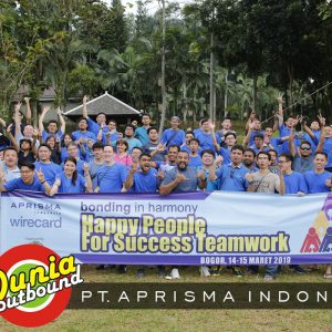 Outbound Training PT. Aprisma Indonesia