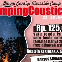 CampingCoustic, Kemah Keluarga Sambil Berbagi