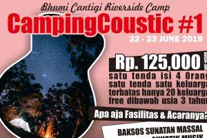 campingcoustic, kemah keluarga sambil berbagi, bhumi cantigi, family camp
