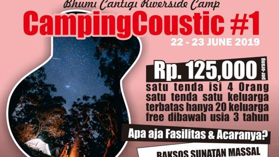 CampingCoustic Family Camp Sambil Berbagi