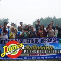 Outing di Pulau Pari Bareng PT. Thubas Liftindo Perkasa