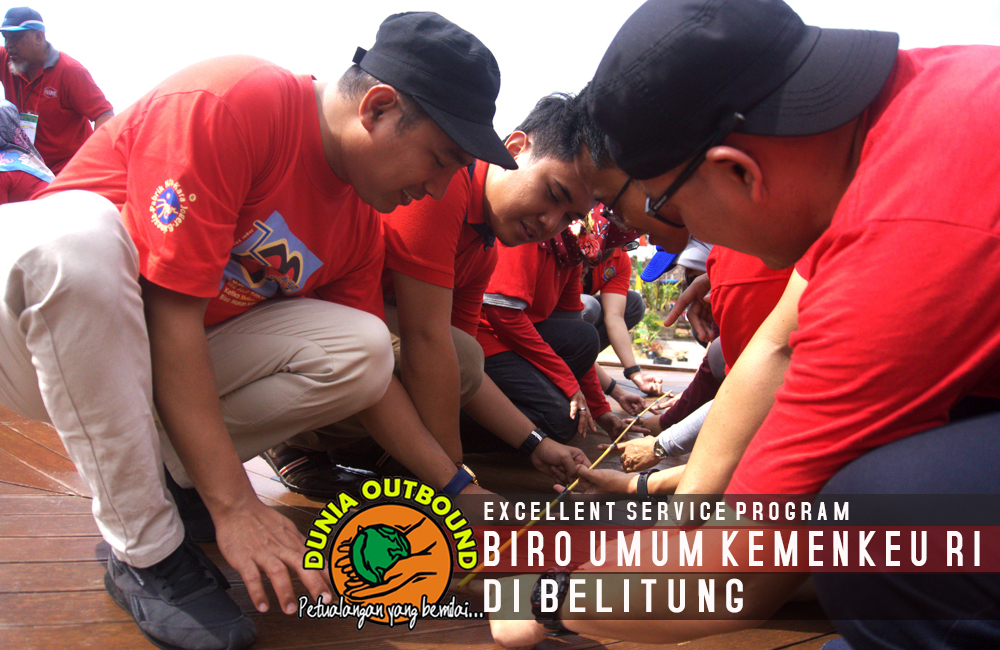 serunya outbound di belitung