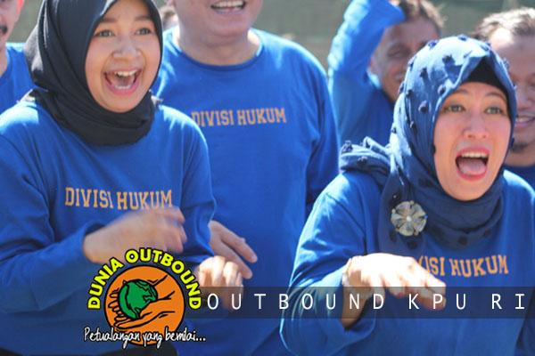 mari outbound bareng KPU
