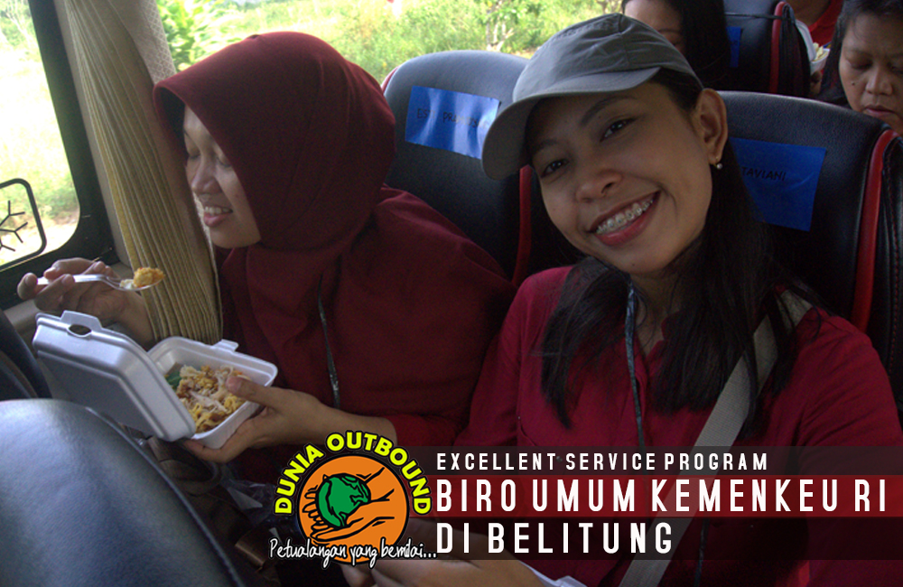 peserta outbound kemenkeu
