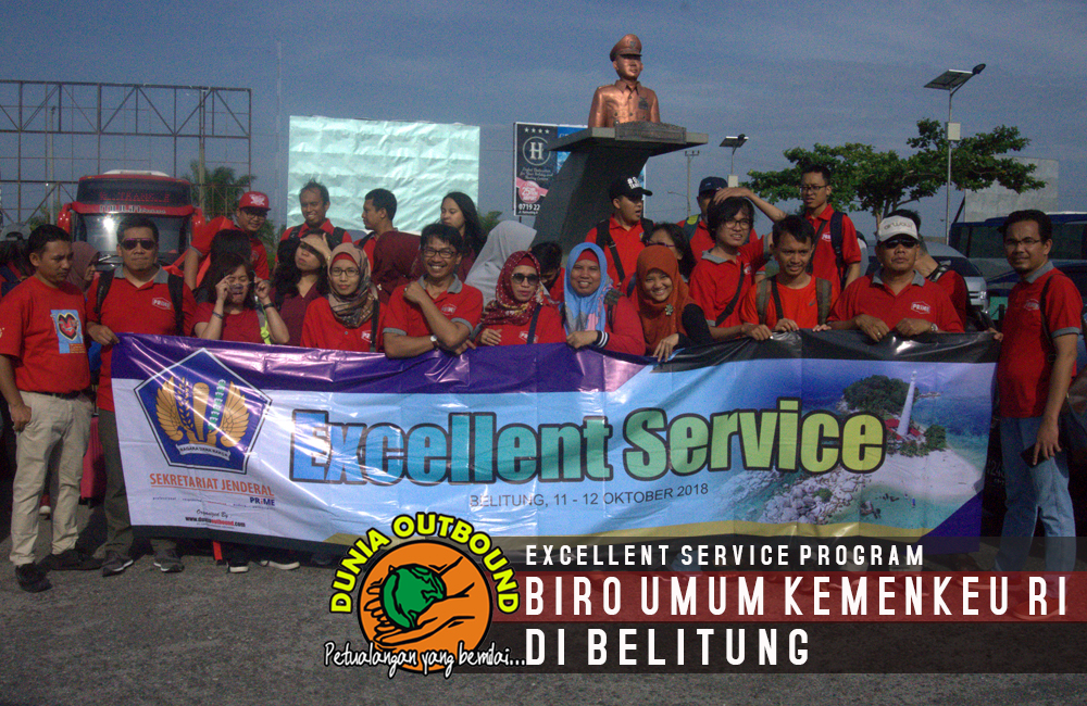 photo bersama outbound kemenkeu