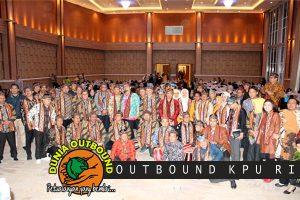 Outbound Di Bogor Bareng KPU RI di Le Eminence Hotel, Ciloto