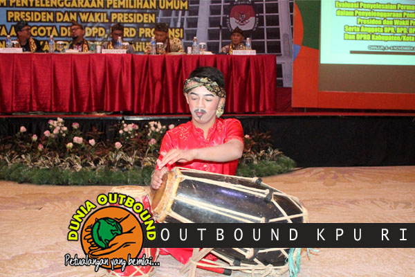 Rapag Kendang outbound KPU RI