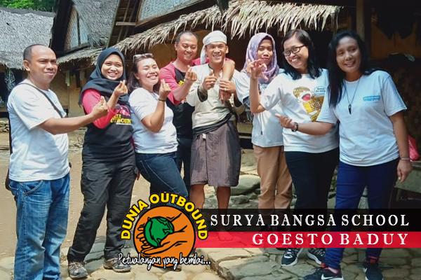 Surya Bangsa School Live In Baduy