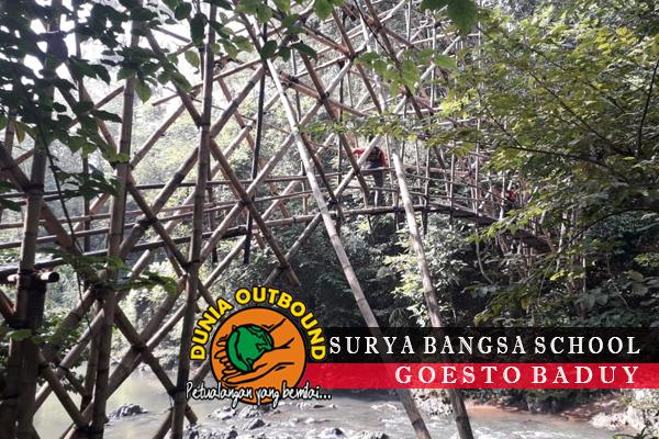 jembatan baduy suku baduy