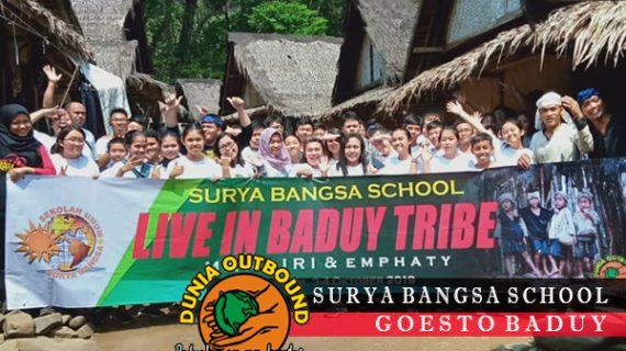 Outbound Di Baduy Bareng Surya Bangsa School