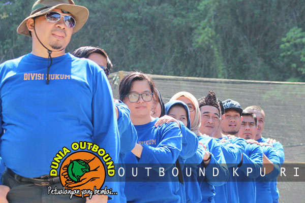 peserta outbound kpu ri