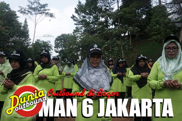 Outbound di Bogor Bareng Man 6 Jakarta