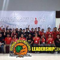 Outbound di Bogor, Alfamart Juara