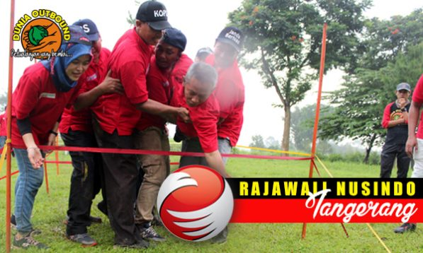 outbound di bogor, outbound rajawali nusindo