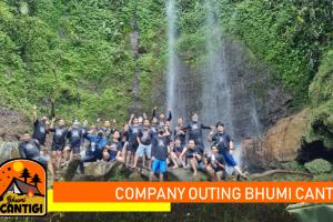 company outing di Bhumi Cantigi